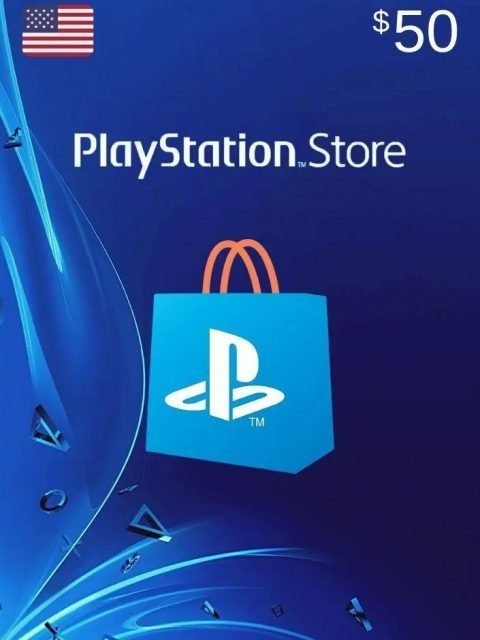 Tarjeta Playstation Network 50 USD PSN USA