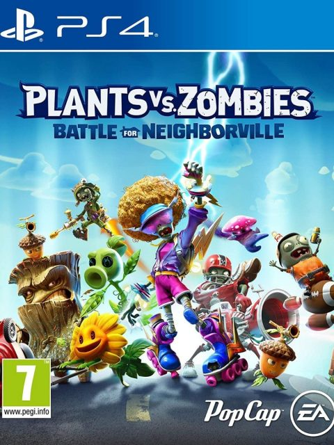 Plants Vs Zombies Battle For Neighborville (PS4)