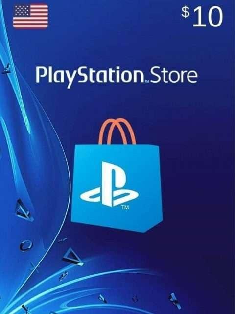 Tarjeta Playstation Network 10 USD PSN USA