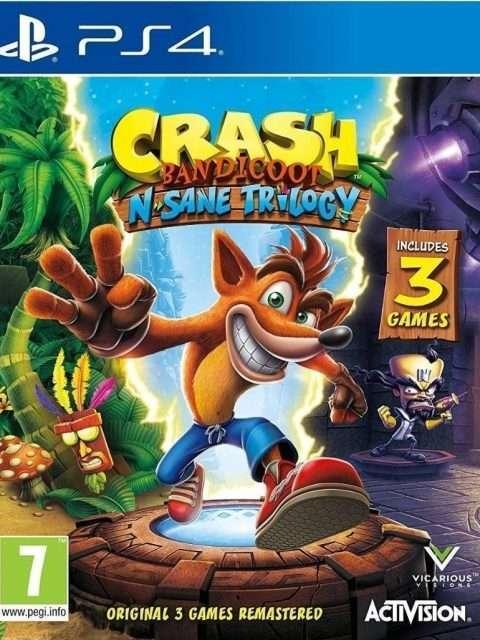 Crash Bandicoot Trilogy (PS4)