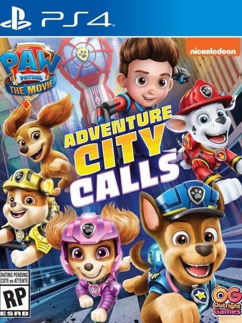 Paw Patrol: La Llamada De Ciudad Aventura (PS4)