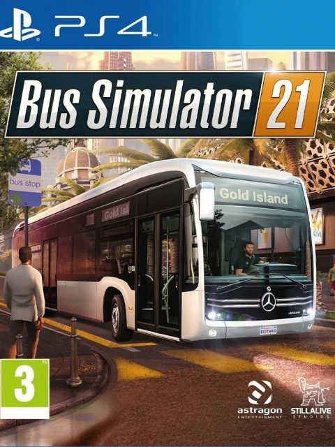 Bus Simulator 21 (PS4)
