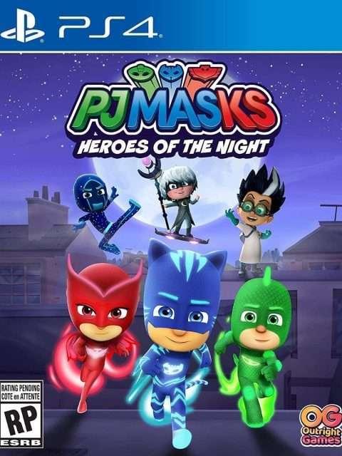 Pj Masks Héroes De La Noche (PS4)